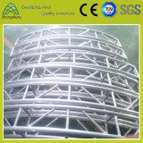 Серебристая алюминиевая вертикальная ферменная конструкция круга винта Spigot