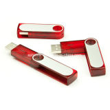USB plástico Pendrive do giro da vara da memória do USB