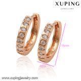 91824 de manier nam de Gouden Geplateerde Oorring van de Juwelen van de Diamant op Hete Verkoop toe