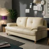 Sofá moderno do couro do estilo para a mobília da sala de visitas