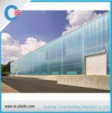Het gemakkelijke Blad van de Zon van het Polycarbonaat van de Installatie Holle