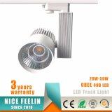 2/3/4wires 50W Handels-LED Spur-Lichter für Schaukasten-Einkaufszentrum