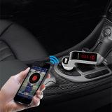 손4 에서 1 최신 Bluetooth 무선 FM 전송기를 G7 + 보조 변조기 차 장비 MP3 선수 SD USB LCD 차 부속품 해방하십시오