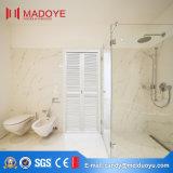 Interior de alumínio do PVC de Foshan que desliza a porta de dobramento do banheiro