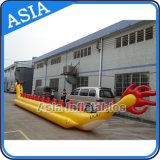 Barca gonfiabile personalizzata del drago dei giochi dell'acqua, barca di banana volante Towables per 10 genti