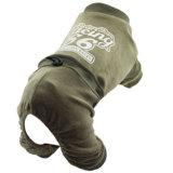 Product van het Huisdier van de Kleren van de Hond van Jumspuit van het fluweel het Sportieve
