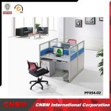 Venta al por mayor divisor de división de oficina moderna computadora cubículo personal estación de trabajo