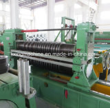 Bobina de aço inteiramente auto que corta a linha fabricante da máquina de estaca
