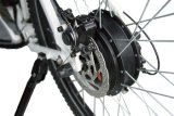 SoftailのLCD表示、500Wモーターが付いている電気マウンテンバイク