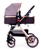 Cochecito infantil plegable del bebé recién nacido de lujo del cochecito para los sistemas del recorrido