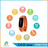 Braccialetto astuto con Sdk, Wristband dell'unità portabile di Bluetooth del pedometro