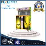 De nuevo diseño salidas dobles del aceite de oliva Vending Machine Wiith cubierta de cristal del Modelo