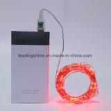 Освещаемые USB красные звёздные веревочки Fairy светов СИД для венчания рождественской вечеринки сада патио спальни