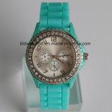 Relojes del silicón de la manera de las muchachas y de los muchachos de la promoción impermeables