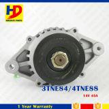 14V 45A 3tne84 4tne88 Pièces de moteurs diesel Alternateur