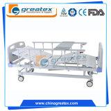 2つの中央ブレーキ(GT-BM5204)が付いている不安定な手動病院用ベッドの病院装置