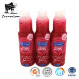 Calentar mismo los juguetes del lubricante del sexo de la cereza