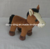 柔らかい材料を持つプラシ天の小型の簡単な馬