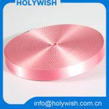 Kundenspezifisches Polyester-Entwurfs-Gewebe-Kauf-Rosa-Farbband für Verkauf