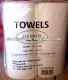 Toalla de papel de la cocina de la agua/aceite de la absorción que graba
