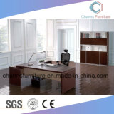 Mobilia superiore L scrivania di legno della Tabella di figura