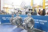 Клапан-бабочка волочения нержавеющей стали