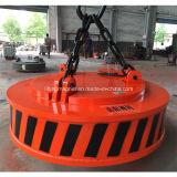 Tipo circolare industriale elettromagnete di sollevamento per gli scarti d'acciaio