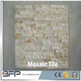 Telha do mosaico do Travertine para a telha do banheiro e a parede exterior Clading