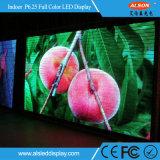 Tevê Rental do diodo emissor de luz da tela da cor cheia de boa qualidade P6.25