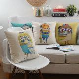 Almohadas decorativas cuadradas de algodón para sofá