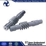 Eixo de engrenagem do sem-fim para a máquina do CNC