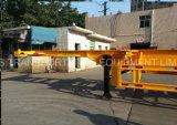 40 Fuß Tandemwellen-Behälter-Chassis-halb Schlussteil-für Osten-Markt