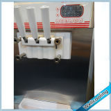 3 congeladores usados do gelado de iogurte congelado dos sabores