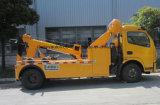 De Slepende Vrachtwagen van Wrecker van Road Rhd van Dongfeng LHD 4*2