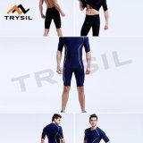Sportswear лета короткий устанавливает носить одежды гимнастики пригодности задействуя