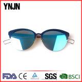 Кота женщин Ynjn солнечные очки нового ультрамодного шикарные