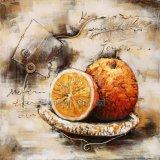 Качество музея 3 D Металл Живопись для фруктов
