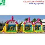 Bouncer inflável do vaqueiro, Bouncer inflável das crianças (BJ-B09)