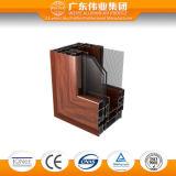 Het Openslaand raam van het Aluminium van de isolatie, Geluiddicht en Anti-diefstal