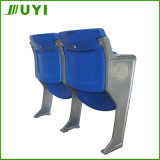 지면 Blm-4151에 최신 판매 중공 성형 플라스틱 의자 경기장 시트 고침