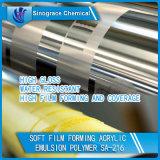 Emulsión de acrílico resistente del estireno de agua para la tinta de impresión