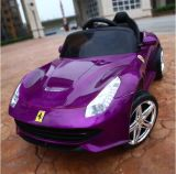Porsche-Kind-Auto spielt RC elektrisches Auto