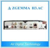 ATSC + DVB S2 직업적인 텔레비젼 암호해독기 Zgemma H3. AC