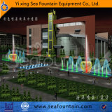 Fontaine de forme de l'eau de combinaison de musique de multimédia à l'université