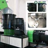 Plástico Waste automático cheio da fibra que recicl a máquina da peletização