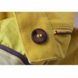 Девушок хлопка способа кальсоны Well-Fitting желтых короткие на лето