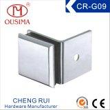 亜鉛合金の単一の側面固定ガラス(CR-G09)で使用される135度のガラス付属品