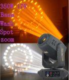 luz principal móvil del zoom del punto de la colada de la viga de 350W 17r