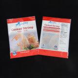 Sac de empaquetage stratifié comique personnalisé de crevette