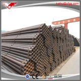 Tubo de acero negro soldado ERW de carbón de ASTM A53 para el agua